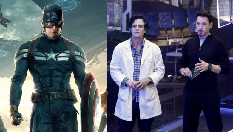 Captain America Chris Evans Has Real Issues With Technology But Robert Downey Jr And Mark Ruffalo Are Ready To School Him - Read Hilarious Tweets