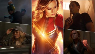 Captain Marvel New Trailer Video OUT: Brie Larson and Jude Law Are Awesome but Watch It for Agent Coulson's Return to the MCU!