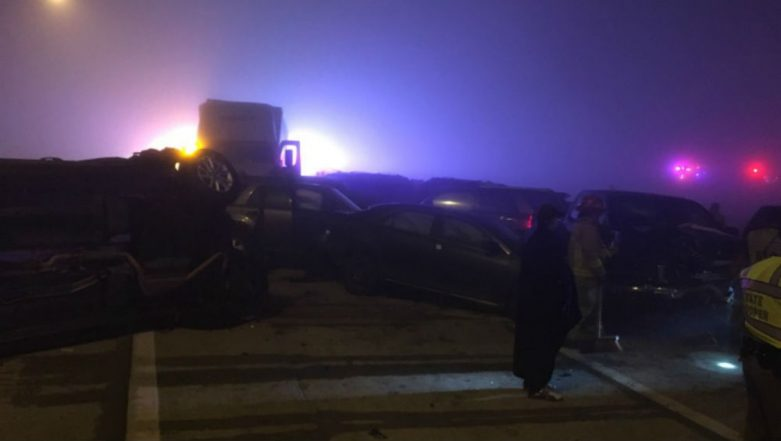 Texas Fog Results in 20-Vehicle Collision on New Year's Day, 9 People Injured