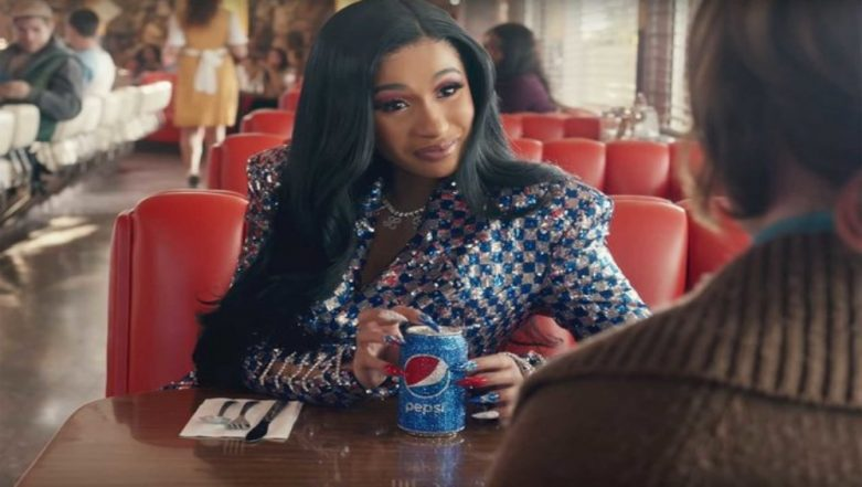 Cardi B Features In Super Bowl Pepsi Ad With Her Signature