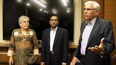 Quick Proceedings vs Cover Up Job: CoA Members Diana Edulji & Vinod Rai Differ in Opinions on Hardik Pandya and KL Rahul 'Sexist Remarks' Controversy