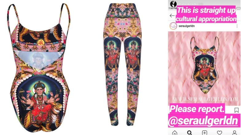 UK Brand 'Sera Ulger' Prints Image of Hindu Goddess on Swimsuits and Joggers, Accused of Cultural Appropriation