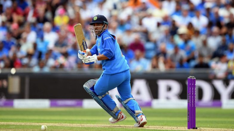 MS Dhoni Set to Achieve This Milestone During India vs New Zealand, 3rd T20I 2019