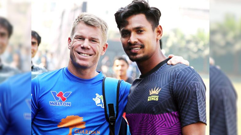 BPL 2019: David Warner Appointed as Team Sylhet Sixers' Captain Ahead of Bangladesh Premier League Season 6