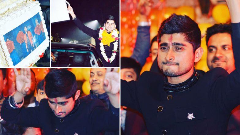Bigg Boss 12: Deepak Thakur Gets A 'KING-SIZE' Welcome Back Home in Bihar! Watch Videos