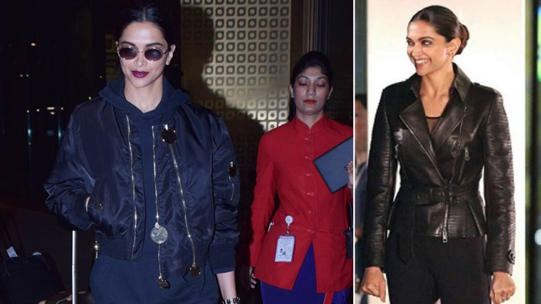Deepika Padukone's Bawsy All-Black Airport Look Will Remind You of Serena Unger From xXx: Return of Xander Cage (View Pics)