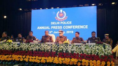 Crime Rate in Delhi: 11.72 Percent Decline in Heinous Crimes Seen in National Capital