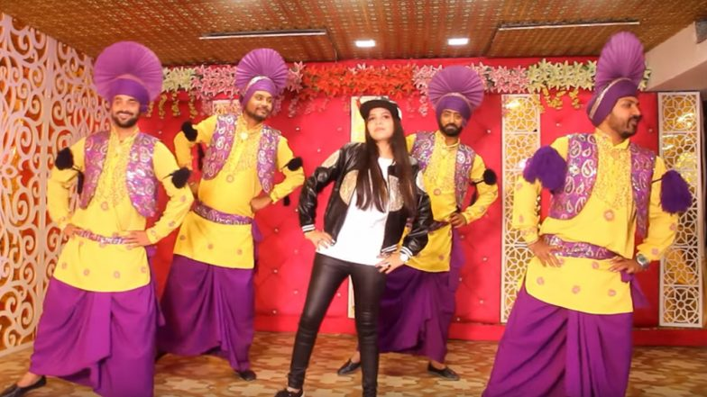 Dhinchak Pooja's New Song 'Nache Jab Kudi Dilli Di' Does Complete Justice to the Legacy of Cringe Pop! (Watch Video)