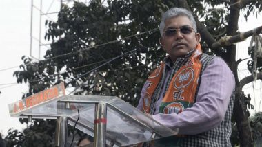Dilip Ghosh Lands in Row, FIR Lodged Against Bengal BJP Chief For 'Shot Them Like Dogs' Remark Against Anti-CAA Protesters