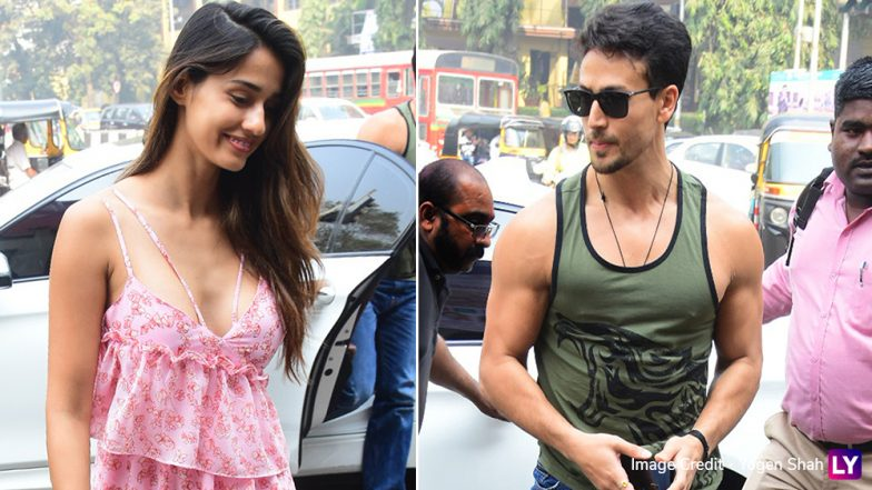 Disha Patani and Tiger Shroff Are Blushing Pink and We Wanna Know Why! (View Pics)