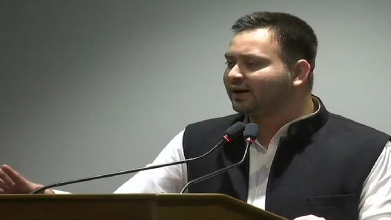 Lok Sabha Elections 2019: Tejashwi Yadav Backs SP-BSP Alliance in Uttar Pradesh, Says 'Our Motive is to Defeat BJP'