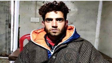 Jammu And Kashmir: Hizbul Mujahideen Terrorist Sarfaraz Ahmed Sheer Arrested by Security Forces From Bandipora