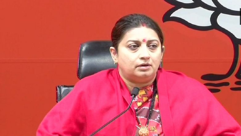 Smriti Irani Educational Qualification: From BA Graduate in 2004 Affidavit to B Com Part 1 Not Completed in 2019 Lok Sabha Elections
