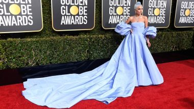 Lady Gaga's 2019 Golden Globe Awards Gown Going Up for Auction, the Valentino Haute Couture Gown Was Left in a Hotel