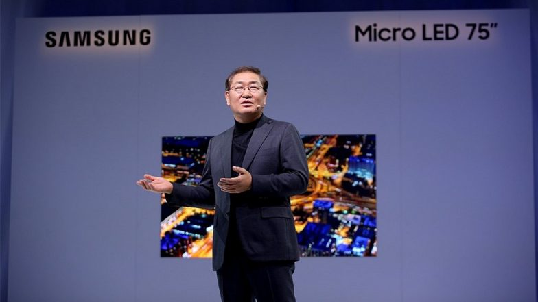 CES 2019: New Samsung 75-inch 4K MicroLED TV Officially Revealed