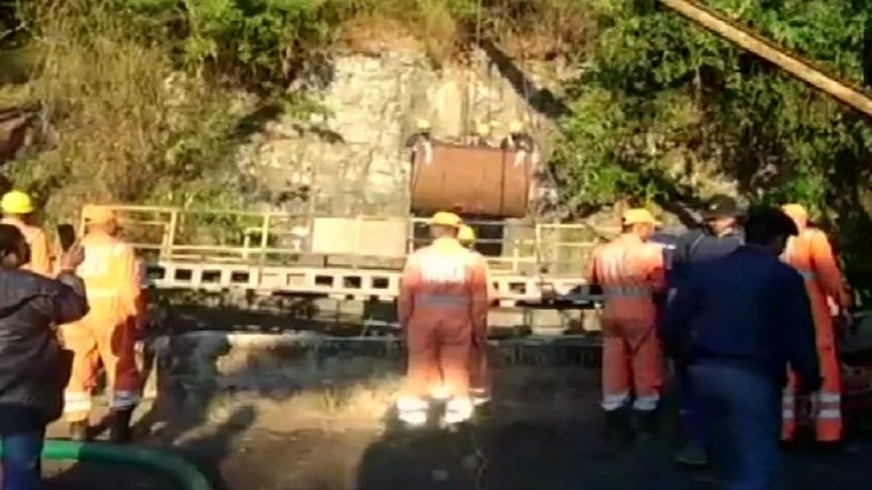 Meghalaya Mining Mishap: CIL, Navy Join Hands to Retrieve Miners, Pump Out Over 2.26 Lakh Litres of Water on Day 25 of Rescue Operation