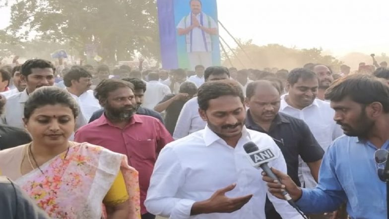 YS Jagan Reddy Completes Longest 'Padayatra' Covering 3,648 km in 341 Days; YSR Congress Chief Assures Decentralisation of Governance in Andhra Pradesh