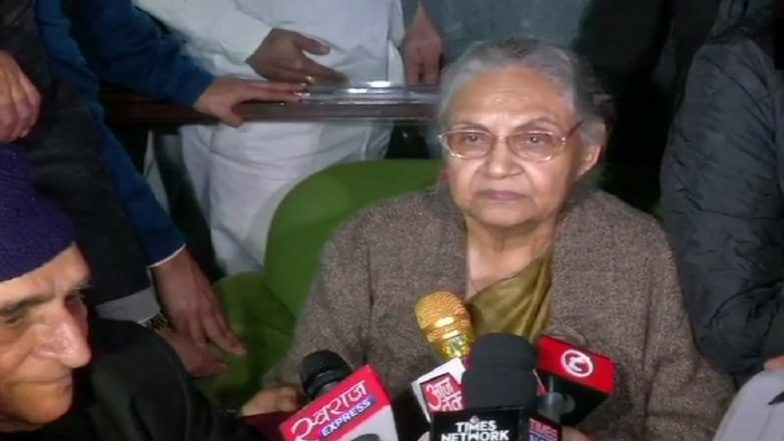 Sheila Dikshit, Congress Stalwart, Dies at 81; From President Kovind to PM Narendra Modi And Rahul Gandhi, Here's How Politicians React to Former Delhi CM's Demise