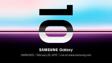 Samsung Galaxy S10 Flagship Smartphone Launch Date Officially Revealed; Global Debut Scheduled on February 20