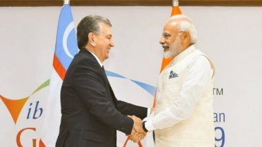 India, Uzbekistan Sign Agreement on Uranium Ore Import After Narendra Modi Holds Talks with Uzbek President Shavkat Mirziyoyev
