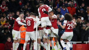 English Premier League 2018-2019: Arsenal Power Past Crosstown Rival Chelsea 2-0
