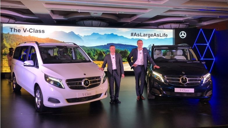 2019 Mercedes-Benz V-Class MPV Launched in India; Prices Start From Rs 68.40 Lakh