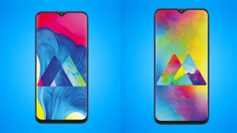 Samsung Galaxy M10, Galaxy M20 With Infinity V Display & Dual Rear Cameras Launched; Price in India Starts From Rs 7990