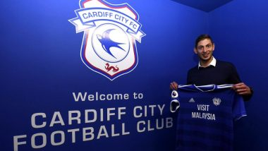 Emiliano Sala, Cardiff City FC's New Signing, Feared to Be on Missing Alderney Plane