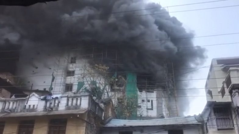 Nagpur: Massive Fire Erupts at Sancheti Hospital Building, Seven Injured