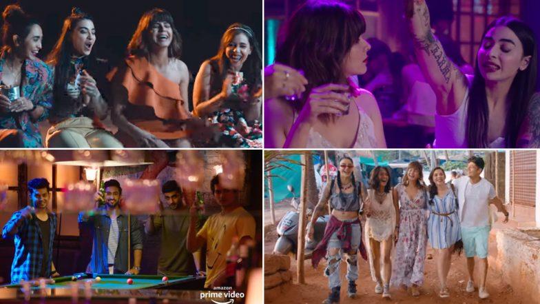 Four More Shots Please Series Trailer:  Sayani Gupta, Kirti Kulhari, Bani J and Maanvi Gagroo Give Us Major Veere Di Wedding Feels! (Watch Video)