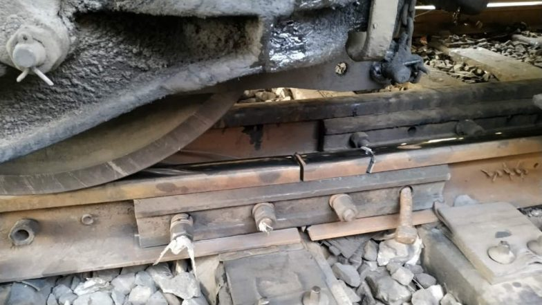 Mumbai: Local Train Accident Averted as Man Alerts Motorman About Fractured Rail Track