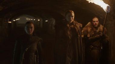 Game of Thrones Season 8 Teaser: Jon Snow, Sansa And Arya Stark Reunite To Face An Icy Threat; Show Premiers on April 14!
