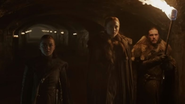 Game of Thrones Season 8 Teaser: Jon Snow, Sansa And Arya Stark Reunite To Face An Icy Threat; Show Premiers on April 14!
