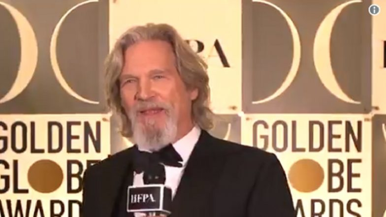 Jeff Bridges Gets Cecil DeMille Award at the 76th Golden Globes, Says We Can Make a Difference