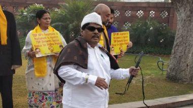 Dressed Like M G Ramachandran, TDP Member Naramalli Sivaprasad Plays Tamil Song in Lok Sabha
