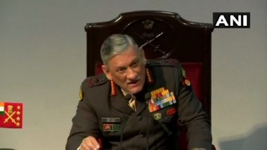 Army Has Managed Situation Well Along China, Pakistan Borders, Says Chief Bipin Rawat at Annual Press Conference