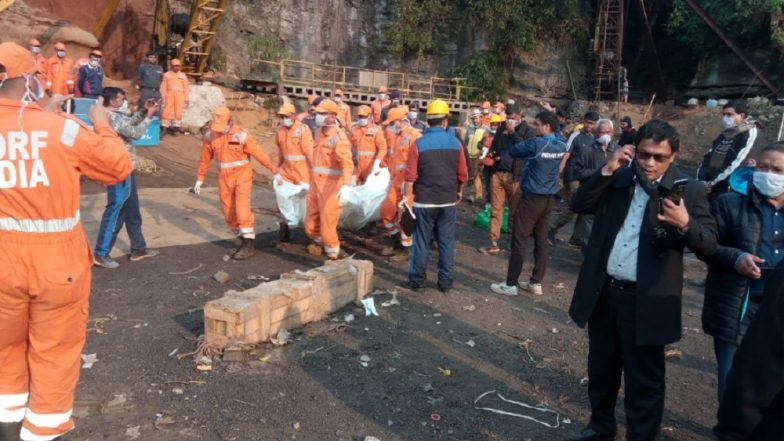 Meghalaya Mining Mishap: First Body Pulled Out of Flooded Coal Mine in East Jaintia Hills