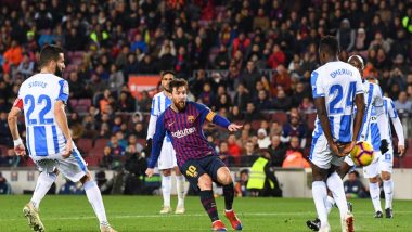 La Liga 2019: Lionel Messi Outshines Ousmane Dembele, As Barcelona Thrashes Leganes 3–1 in a Thriller