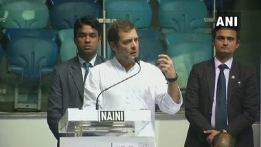 Congress Party Fought British, RSS Begged for Mercy: Rahul Gandhi