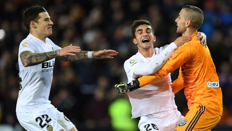 Copa del Rey 2019: Valencia Reaches Semi Final, Rodrigo Moreno's Hat Trick Powers 3–2 Aggregate Win Over Getafe in Quarter Finals