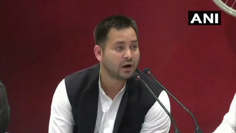 Lok Sabha Elections 2019: Tejashwi Yadav Says CBI, ED, IT Are Working Like IT Cell of BJP