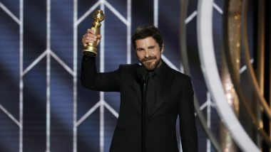 Golden Globe 2019: Christian Bale Takes Home First Best Actor Award for 'Vice'