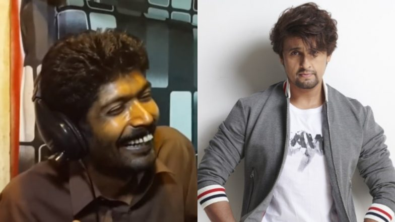 Pakistani Comedian Ghulam Asghar's Honest Take on Singing These Days Amuses Sonu Nigam (Watch Funny Video)
