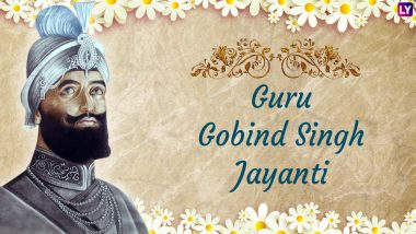 Guru Gobind Singh Jayanti Images & HD Wallpapers for Free Download Online: Wish Happy Prakash Parv 2019 With Beautiful GIF Greetings & WhatsApp Sticker Messages
