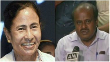 Congress Ally HD Kumaraswamy Backs Mamata Banerjee for PM Post, Says She Has 'All Capabilities'