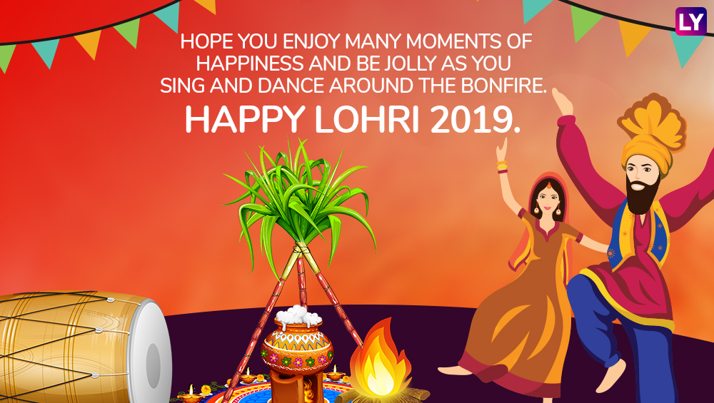 Happy Lohri 2019 Wishes: WhatsApp Stickers, Hike Messages ...