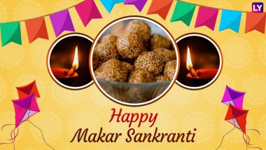 Makar Sankranti 2019 Wishes and Images: Best WhatsApp Stickers, Hike Photos & SMS, Facebook Status, GIF Greeting Messages to Wish Happy Uttarayan