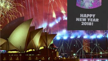 Happy New Year 2019 or 2018? Sydney New Year's Eve Fireworks Show Trolled for Featuring Incorrect Year
