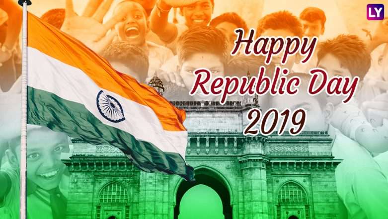 Republic Day 2019 Wishes in Advance: Best WhatsApp Stickers, GIF Image Messages, Patriotic Quotes, SMS to Send Happy Republic Day Greetings