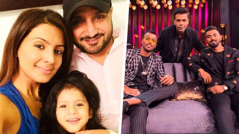 Harbhajan Singh Slams Banned Hardik Pandya & KL Rahul: Former Indian Spinner Says, 'Won't Travel With These Guys With Wife and Daughter in Same Bus'